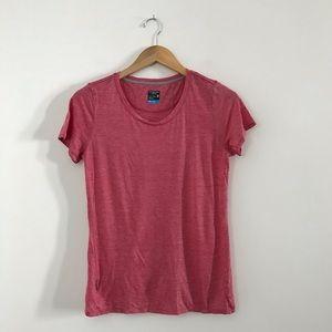 Icebreaker Merino Wool Cool-Lite T Shirt Red M A4